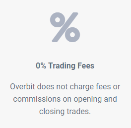 Overbit Trading Fee
